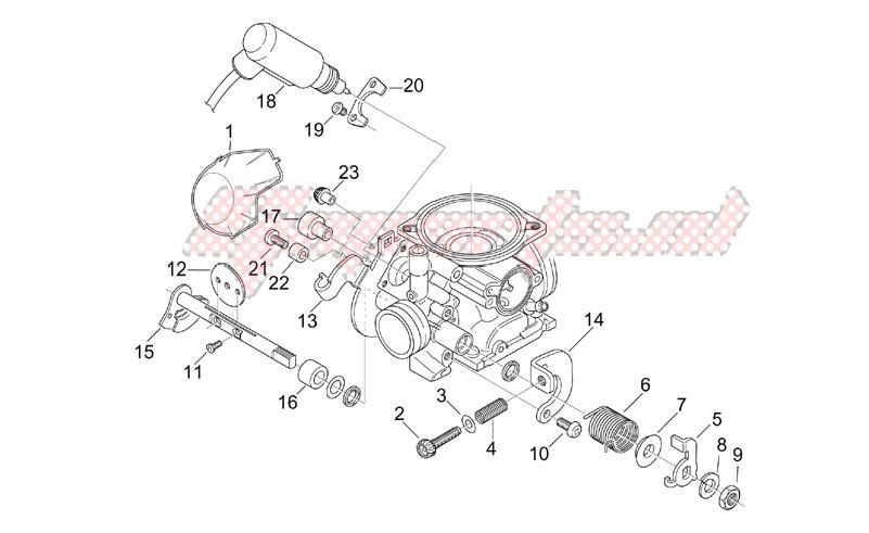 OEM parts Aprilia [Scooter] Leonardo 125-150 ST / 2002