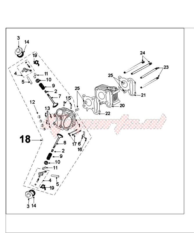 OEM parts Peugeot [Scooter] FIGHT 4 50 4T ICEBLADE / 2015