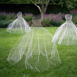 chicken-wire-ghost-dress