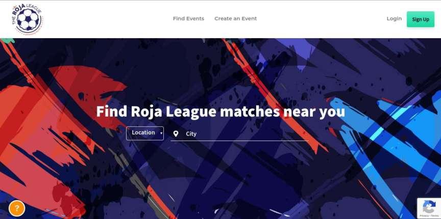 roja league landing page