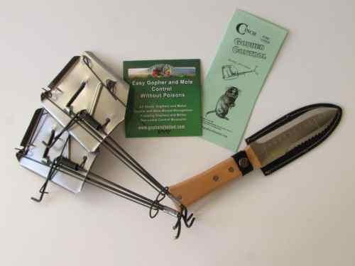 cinch gopher mole trap starter kit