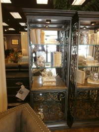 Mirrored Curio Cabinet at The Missing Piece