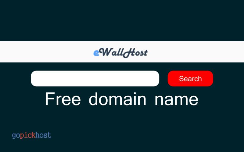 eWallHost free domain name