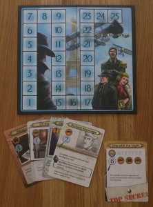 'That' board, plus a few of the Ace of spies cards.