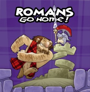Romans Go Home box