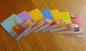 Sushi Go cards