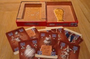 Sarkophag cards with box