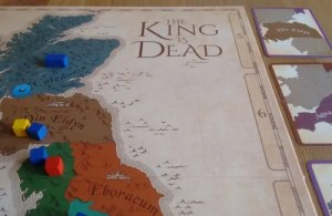 King is Dead board close up