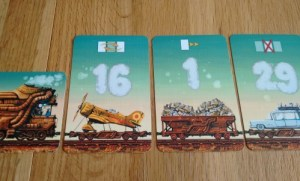 Game of Trains in play close
