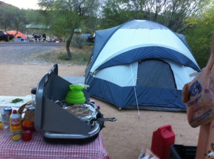 home sweet campsite home