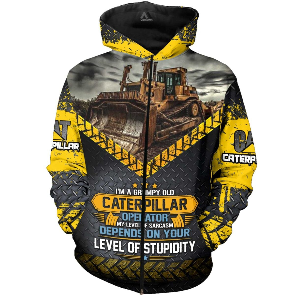 Heavy Equipment 3D All Over Printed Shirts for Men and Women 4