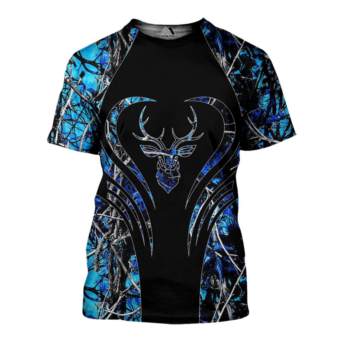 Deer Hunting Camo 3D All Over Printed Shirts for Men and Women 11
