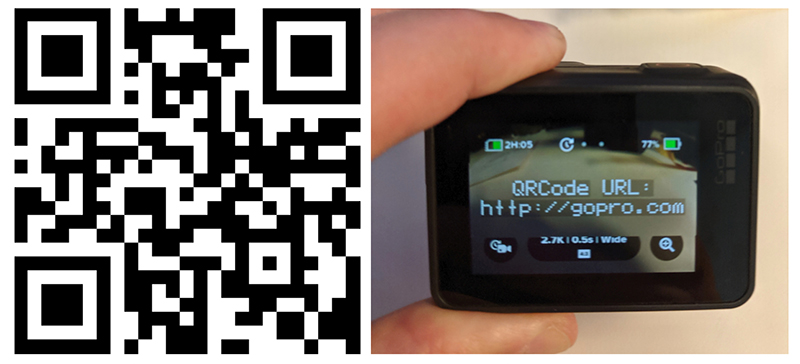 QRCode GoPro Labs