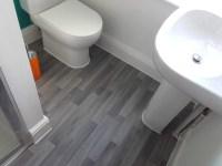 goprohandyman - Vinyl bathroom flooring