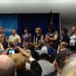 Transgender Delegates Honored at LGBT Caucus