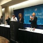 DNC Chair Debbie Wasserman Schultz at LGBT Caucus