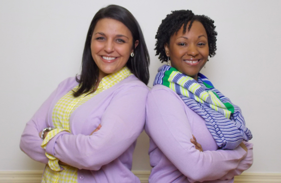 Left to right, Sarah Demarest and Kelly Durden opened a non-profit law center in Charlotte.