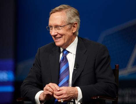 U.S. Senate Majority Leader Harry Reid (D-Nev.). Photo Credit: UNLV Photo Services/Geri Kodey