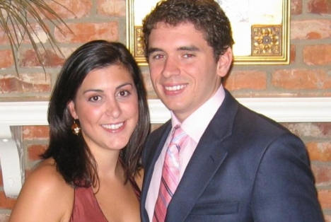 Jamie Hahn, left, and her husband Nation Hahn.