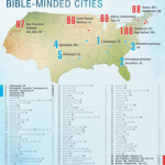 No surprise? Charlotte ranks 6th in 'most Bible-minded' cities