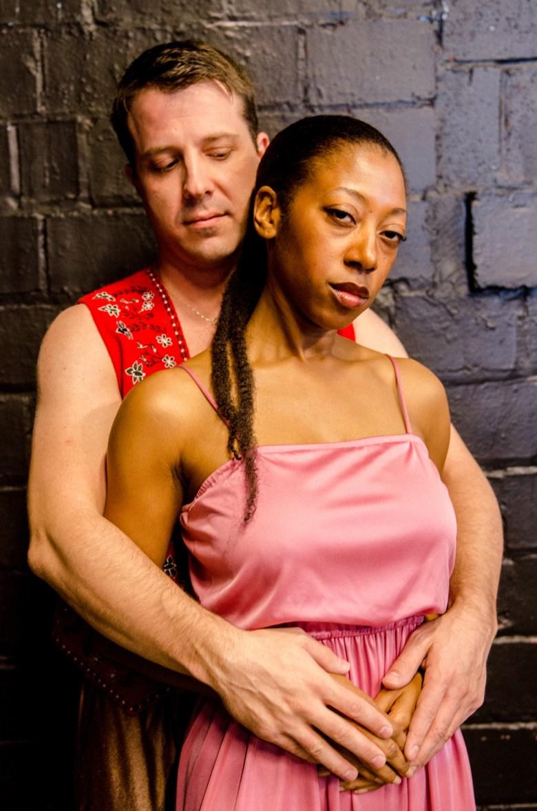 David Joy and Natasha Gore star in 'Aida' at Theatre Alliance of Winston-Salem in March. Photo Credit: Dancing Lemur Photography