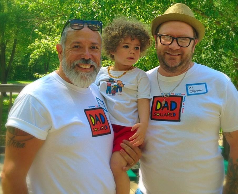 Henry Amador, son Ben and Joel Batten