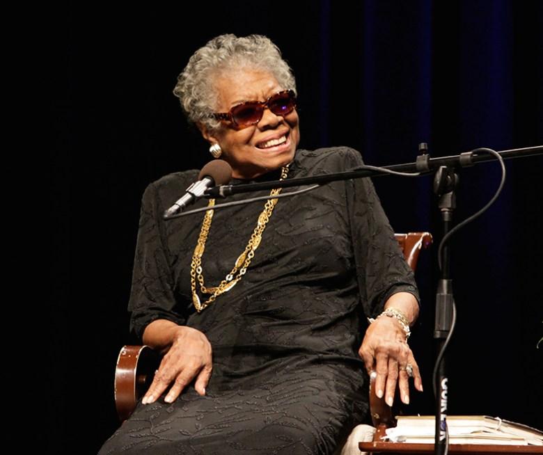 Maya Angelou. Photo Credit: The Panamerican, via Flickr. Licensed CC.