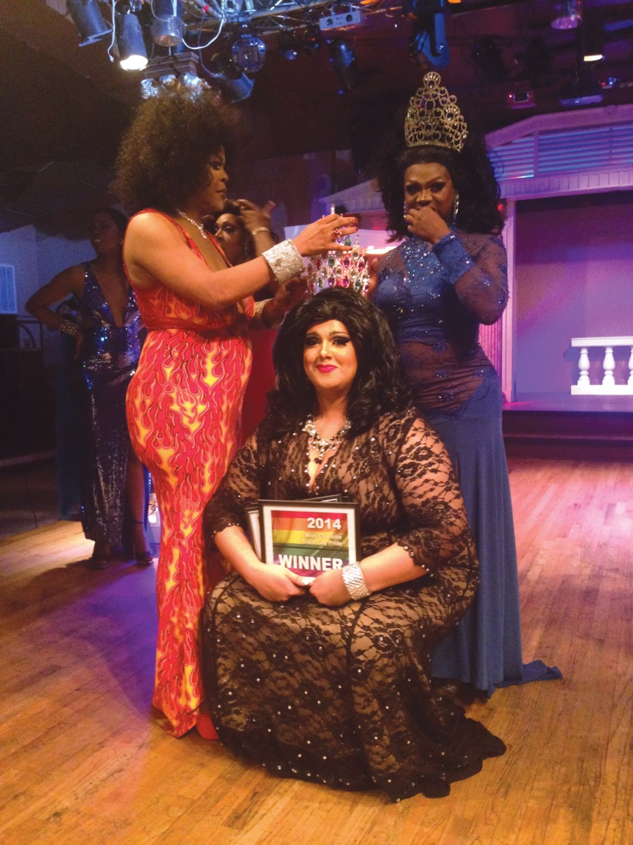 Carrie Chanel is crowned Miss Charlotte Black Gay Pride at a pageant on June 18. Michele, who is biracial, inspires Charlotte Black Gay Pride Development Director Francisco White, who says her win symbolizes the organization's mission to foster social awareness and celebrate diversity.