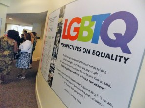 LGBTQ Perspectives on Equality exhibit at Levine Museum of the New South.