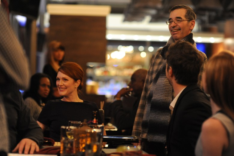 Julianne Moore and director Richard Glatzer. Photo Credit: Jojo Whilden, Courtesy of Sony Pictures Classics