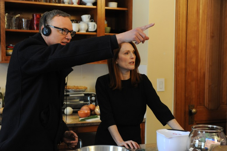 Director Wash Westmoreland and  Julianne Moore Photo Credit: Jojo Whilden, Courtesy of Sony Pictures Classics