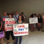 Photos: Moral Monday protesters present new 'LGBTQ Agenda' on poverty, education, voting rights