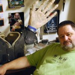 Sculptor Mike Seigler is a one-man army