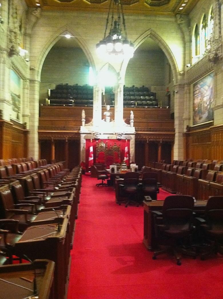 Canadian Parliament. Senate