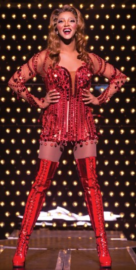 J. Harrison Ghee plays Lola in 'Kinky Boots' at Blumenthal Performing Arts beginning Dec. 29. Photo Credit: Matthew Murphy