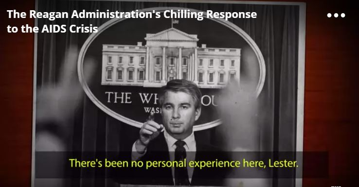 reagan administration aids documentary