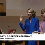 Jennifer Roberts sworn in as Charlotte mayor, pledges to support LGBT rights