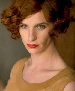 """Eddie Redmayne transforms his character of Einar Wegener to Lili Elbe in """"The Danish Girl."""" Photo Credit: movie still by via Working Title Films/First Look Photography"""