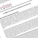 Discrimination agreement required at voucher-eligible school