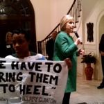 Charlotte black, queer activist confronts Hillary Clinton at fundraiser