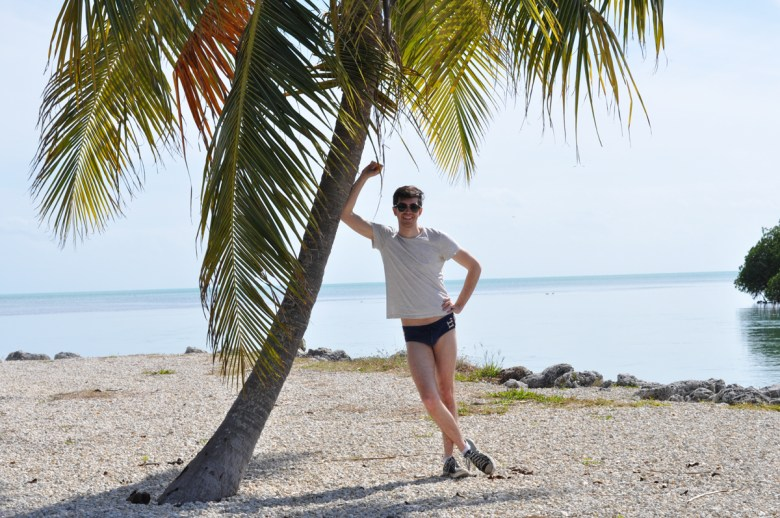 Nick de la Canal enjoyed his excursion to Key West, Fla., and got a chance to take in some beach time.