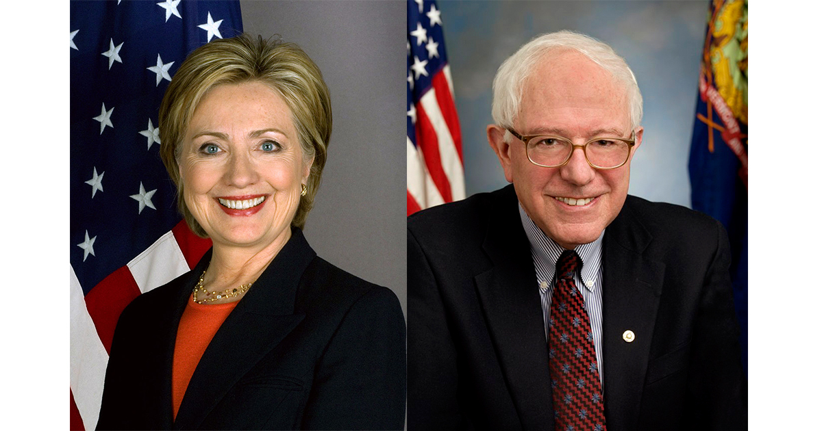 clinton sanders vote