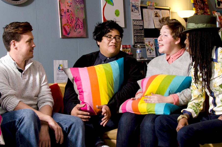 Discussion groups are an important part of the work that supports LGBT youth.