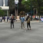 Protesters shut down Trade and Tryon Streets in Charlotte over HB2, black and trans lives