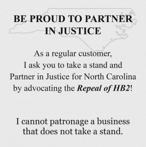 A justice card is available for download on the GayAshevilleNC.com website.