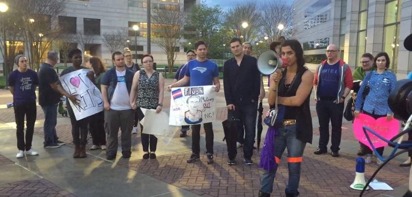 charlotte transgender rally