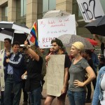 Transgender Day of Visibility Rally in Charlotte protests HB2