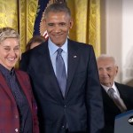 U.S./World: DeGeneres honored, network expansion, playwright winners, Sessions condemned