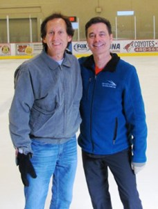 I have so much enjoyed being coached by World Champion Randy Gardner at the past two Dorothy Hamill Adult Fantasy Skating Camps.