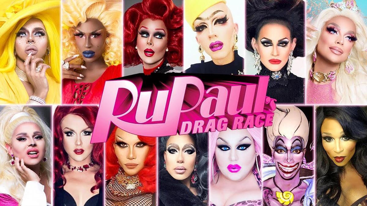 Resultado de imagem para ru and rupauls drag race cast